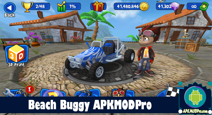 Download Beach Buggy Racing 2 MOD APK 1.6.4 (Unlimited Money) Terbaru 2020