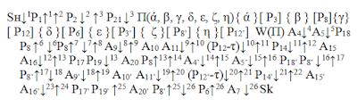 """Логическая  схема алгоритма схемы управления электропривода швартовного шпиля фирмы """"Сименс""""."""