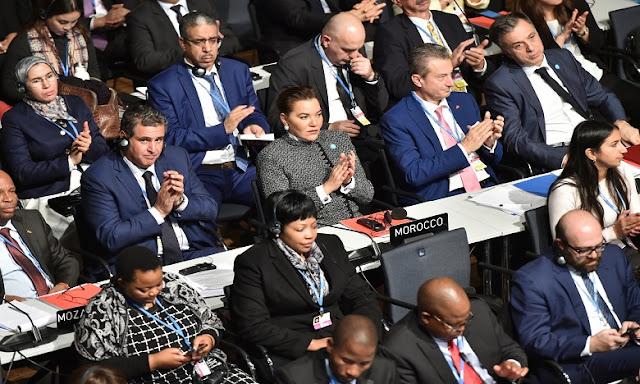 S.A.R La princesse Lalla Hasnaa représente le Roi Mohammed VI à l'inauguration de la COP23 à BONN