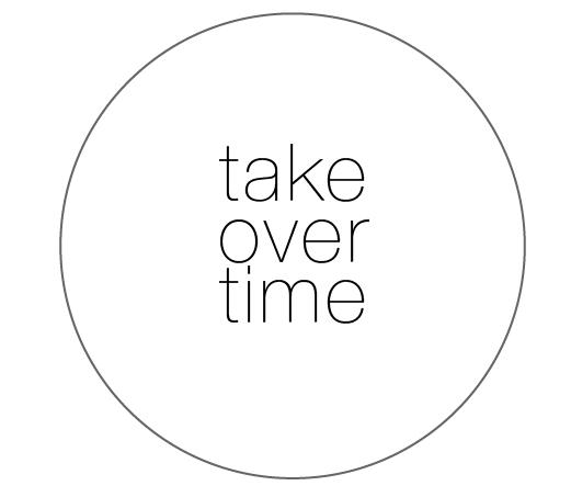 Blog Pick:: take over time