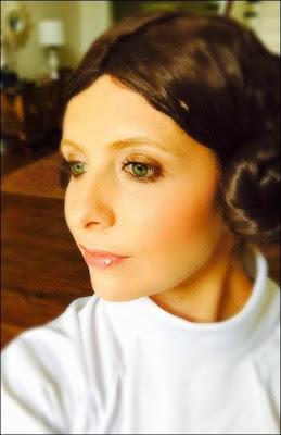 Sarah Michelle Gellar  Princesse Leia Halloween 2014