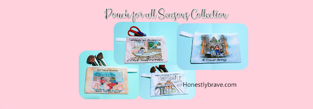 Carry all pouch for all season by Honestly Brave