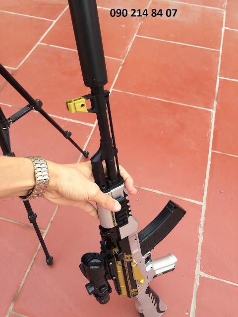 Súng mô hình Pubg đạn thạch AKM _3