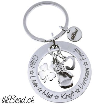 Schlüsselanhänger mit Ihrer Wunschgravur