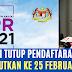 Permohonan BPR Dilanjutkan Ke 25 Februari 2021