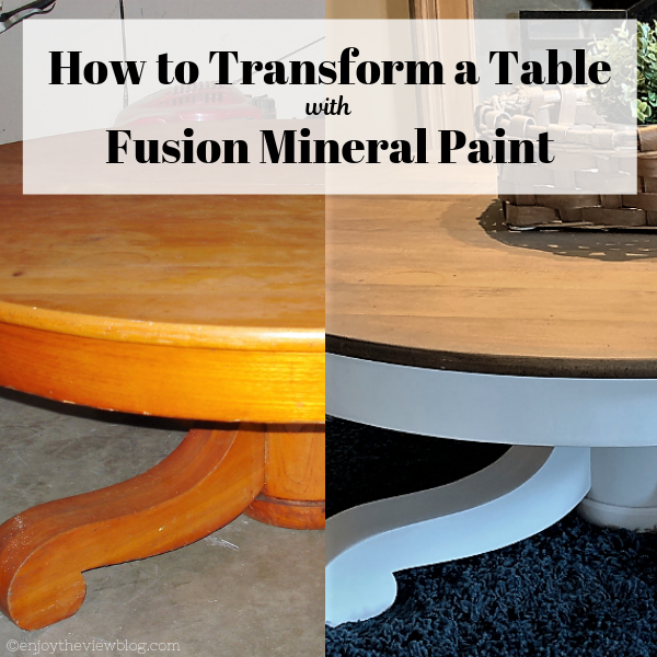 How to Transform a Table with Fusion Mineral Paint