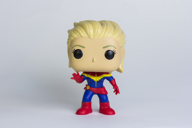 Funko Pop de la Capitana Marvel