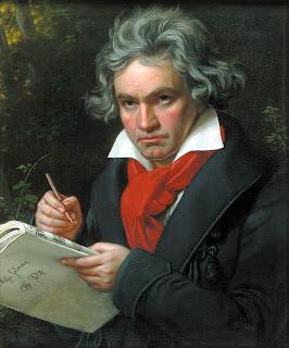 Ludwig van Beethoven, em 1819