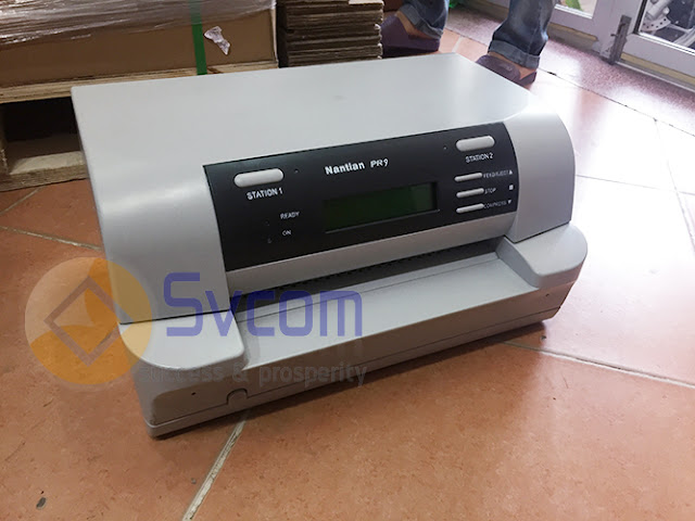 Nhà cung cấp máy in sổ Nantian PR9 cho ngân hàng Ocean Bank.