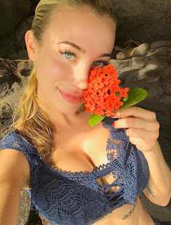 Sophia Phalen With Flower