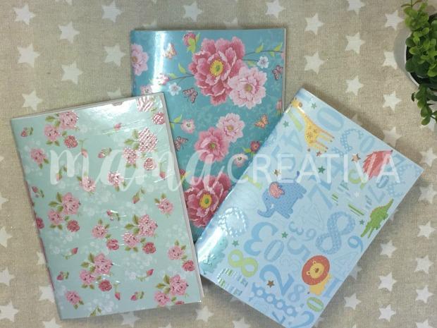 tres cuadernos