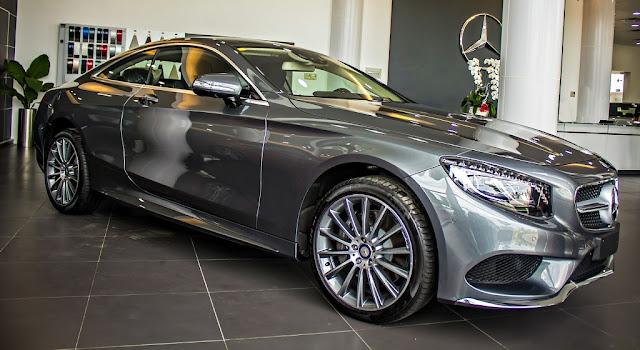 Mercedes S500 4MATIC Coupe 2017 sở hữu thiết kế ngoại thất và nội thất thể thao mạnh mẽ
