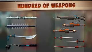 shadow fights 2 titan mod apk all weapons unlocked