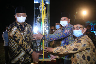 Malam Penutupan MTQ dan Festival Nasyid Tingkat Kabupaten Labuhanbatu Berjalan Tertib