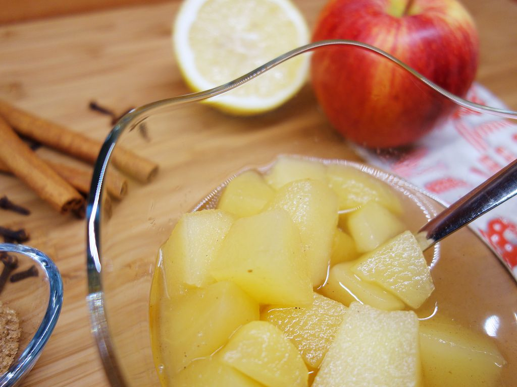 Obst-verarbeiten-Apfel-Kompott-selber-machen