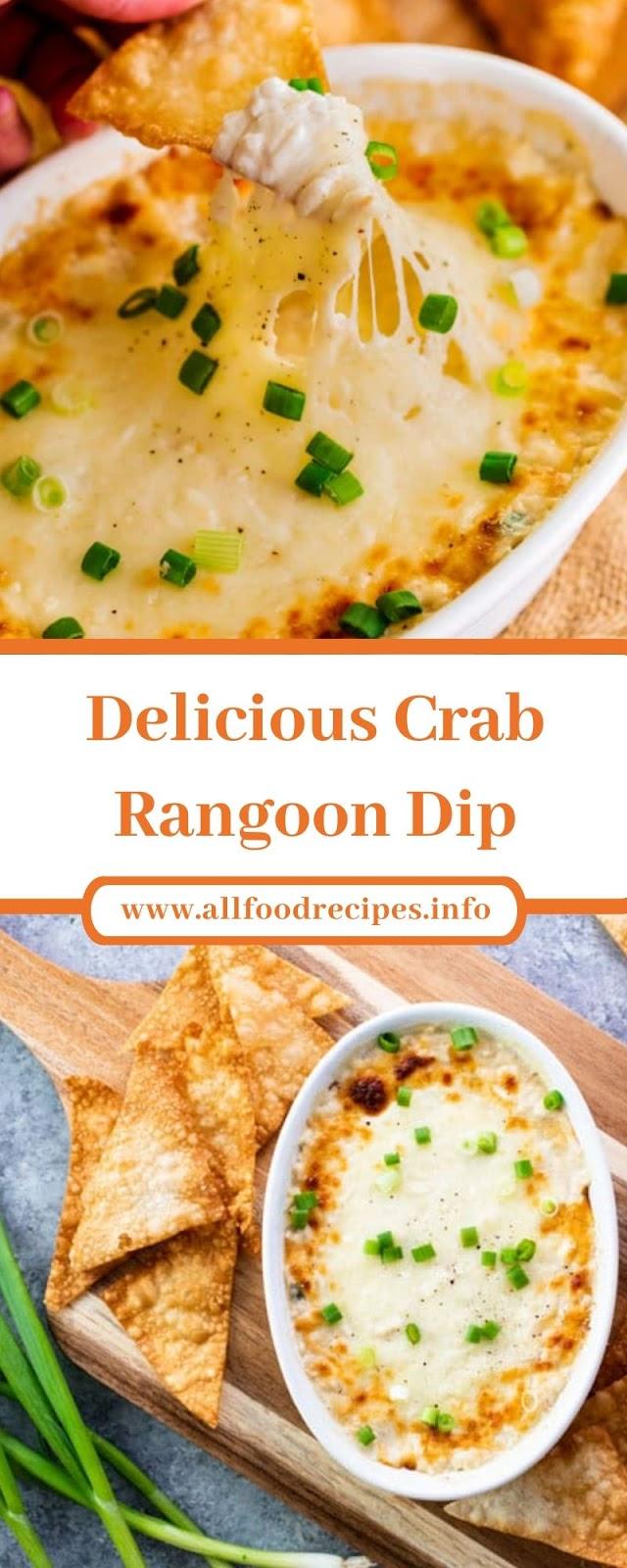 Delicious Crab Rangoon Dip