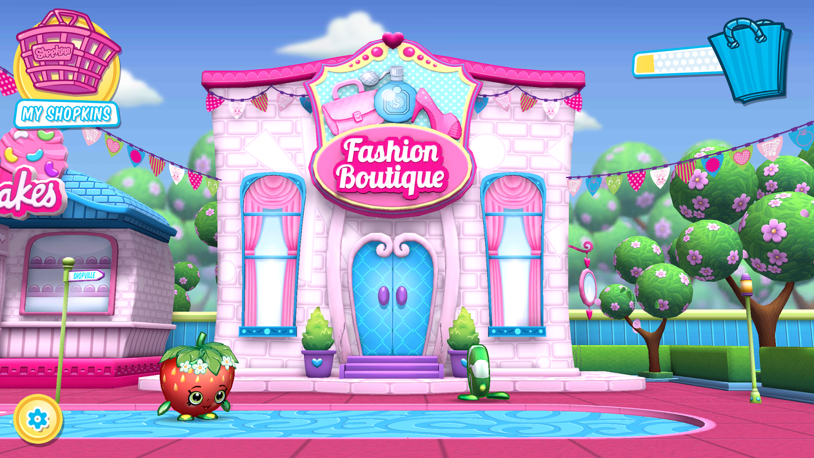 Shopkin world shopkins welcome to shopville app for World boutique