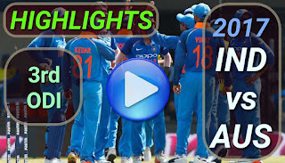 india-vs-australia-3rd-odi-2017-highlights