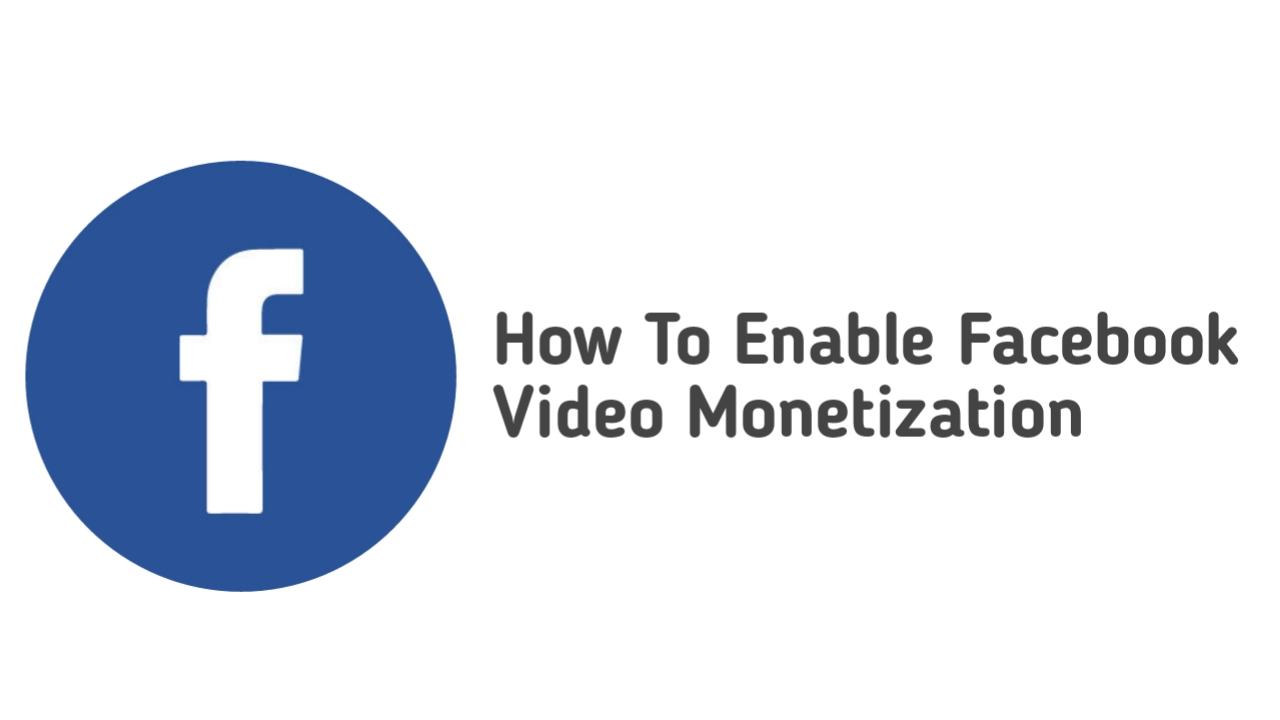 फेसबुक से पैसा कैसे कमाए। Facebook video monetization enable kaise kare