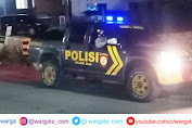 Antisipasi Tindak Kriminal, Polsek Alla Rutin Melakukan Patroli Malam