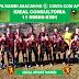 Copa Nambi de futebol: Jogos atrasados de junho serão disputados neste domingo