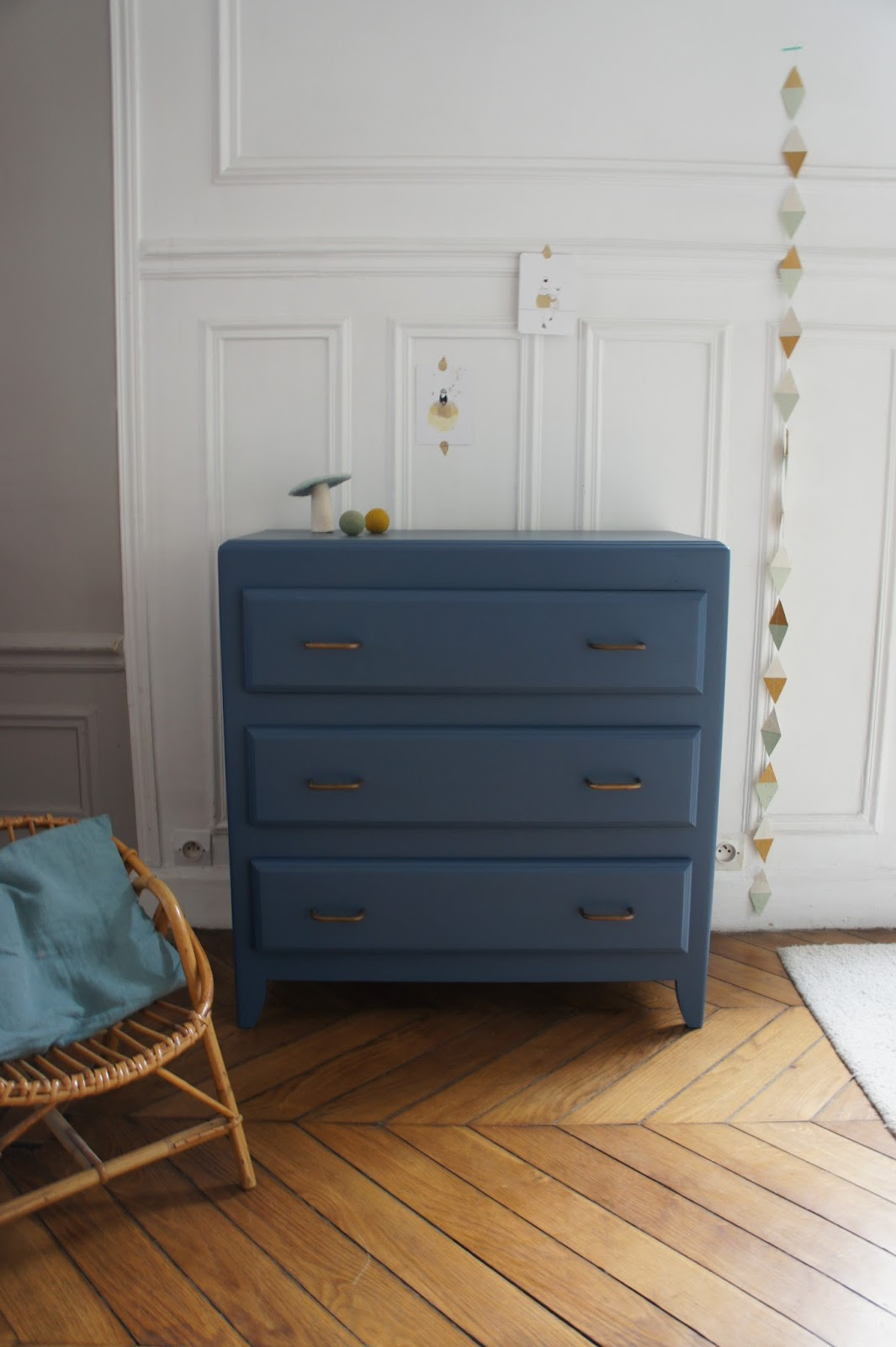 atelier petit toit la commode vintage de m lanie restaur e sur commande. Black Bedroom Furniture Sets. Home Design Ideas