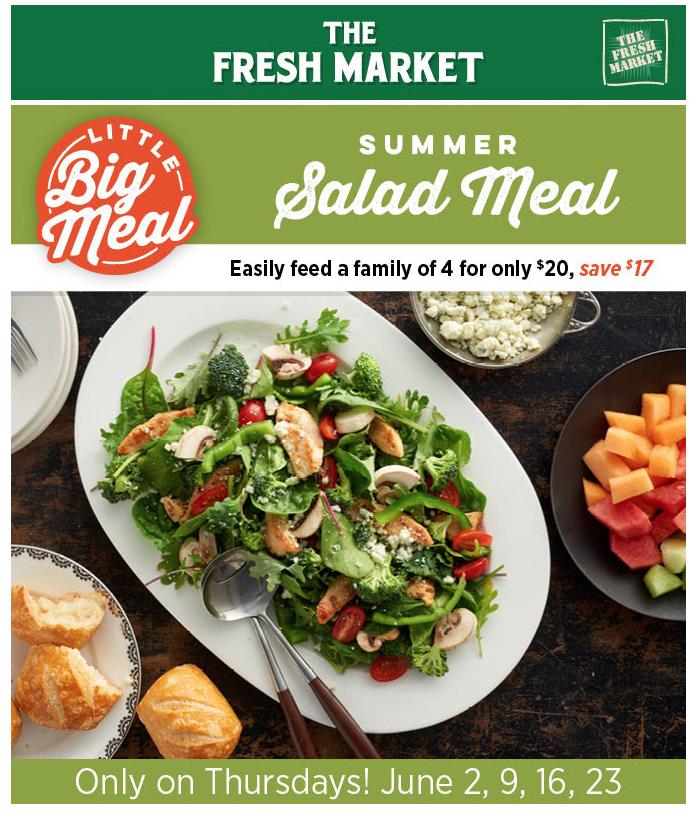 Fresh Market Thursday Summer Meal Deal