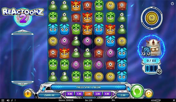 Main Gratis Slot Indonesia - Reactoonz 2 (Play N GO)