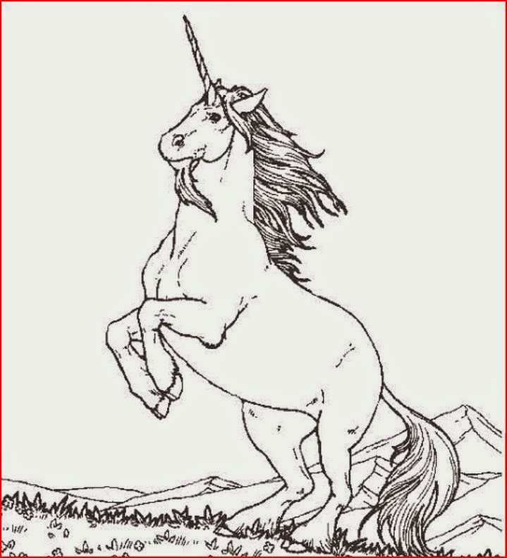 Coloring Pages Unicorn Coloring