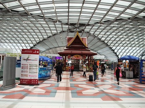 泰國 - 曼谷蘇凡納布機場 (Bangkok Suvarnabhumi Airport, BKK)