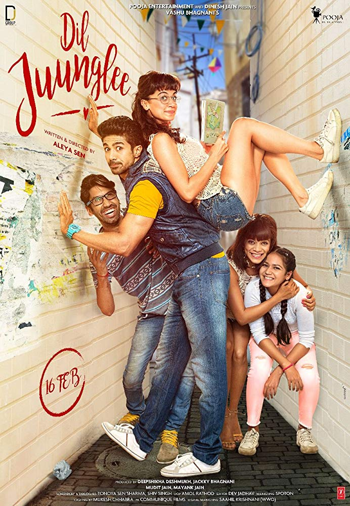 Dil Juunglee (2018) Hindi 500MB HDRip 720p HEVC x265 ESubs