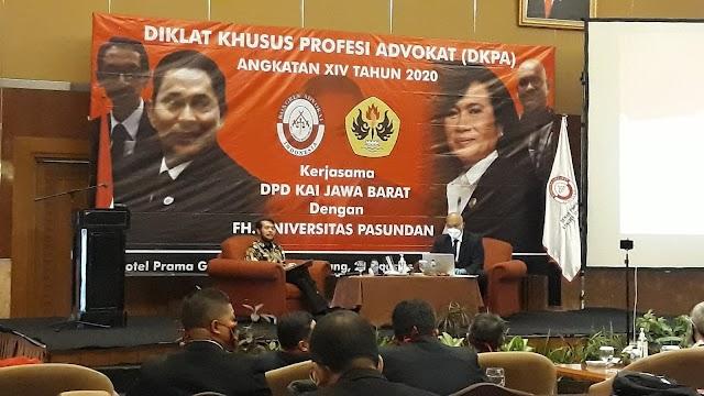 DKPA Angkatan XIV 2020 DPD KAI Jabar, Terapkan Protokol Kesehatan Dengan Ketat