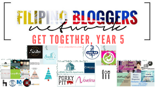 -Jona Shares-: Filipino Bloggers Network Get Together, Year 5