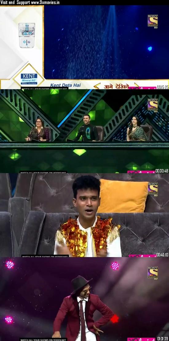Indias Best Dancer 20 September 2020 HDTV 480p 300MB