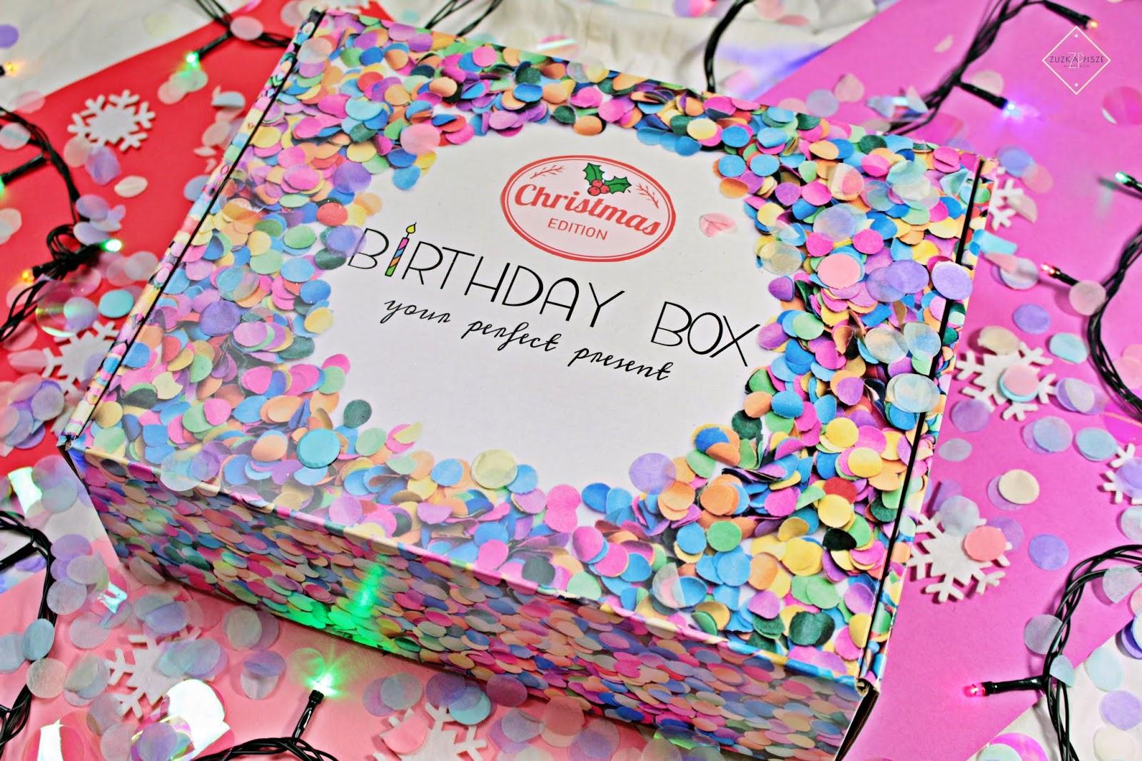 Openbox Świątecznego Box'a Christmas Edition od BirthdayBox