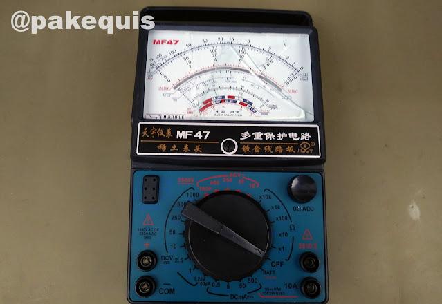 Multimetro analogico MF47