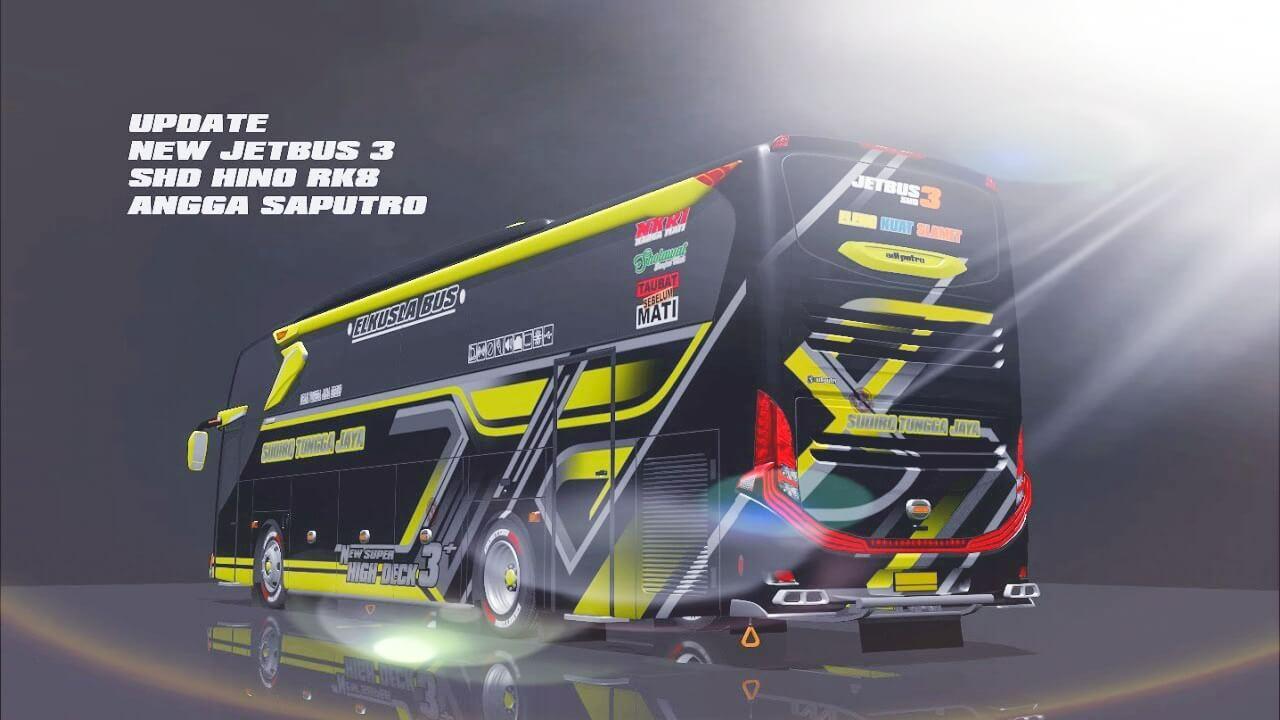 Mod Bussid Jetbus3 SHD Hino