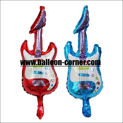 Balon Foil Gitar Mini
