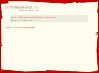 destructing_message