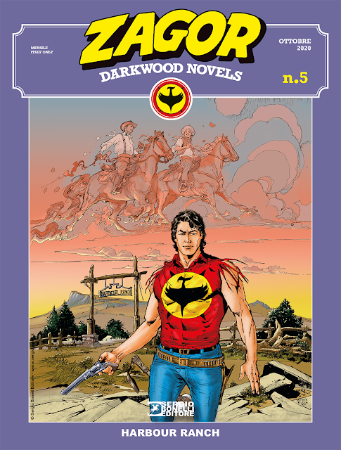 Zagor Darkwood Novels 5: Harbour Ranch, e l'omosessualità nel far west