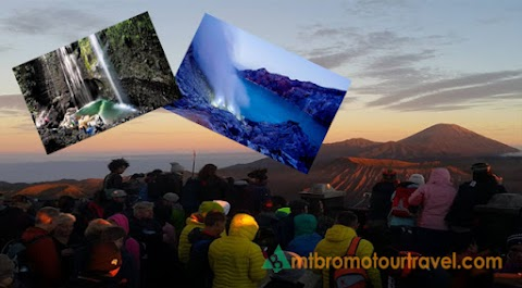 Mt Bromo Sunrise, Madakaripura waterfall and Ijen Tour 4 days