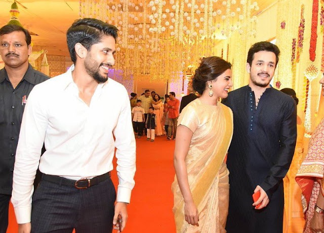 naga chaitanya,akhil, samantha at swathi marriage