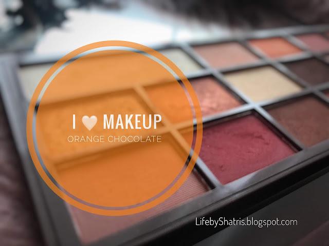 #IHeart Makeup - Pierwsze wrażenie po Orange Chocolate !