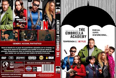 CARATULA THE UMBRELLA ACADEMY - TEMPORADA 1 - 2019 - [COVER DVD]