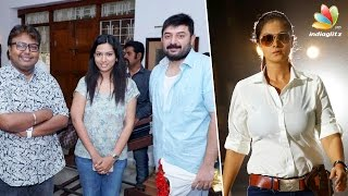 Simran is back as cop in Arvind Swamy's next directed by Selva | Imman