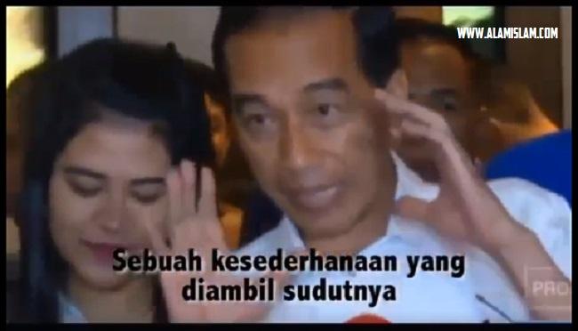 presiden jokowi bicaranya seperti vicky prasetyo gak jelas maknanya