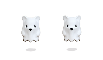 Ghostbear Matte White Edition Vinyl Figure by Luke Chueh x Munky King.png