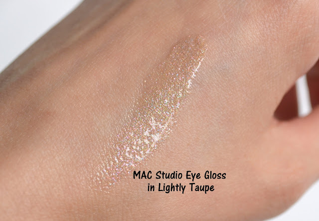 MAC Future MAC Studio Eye Gloss in Lightly Taupe Swatch