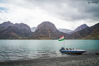 Danau Iskanderkul Tajikistan
