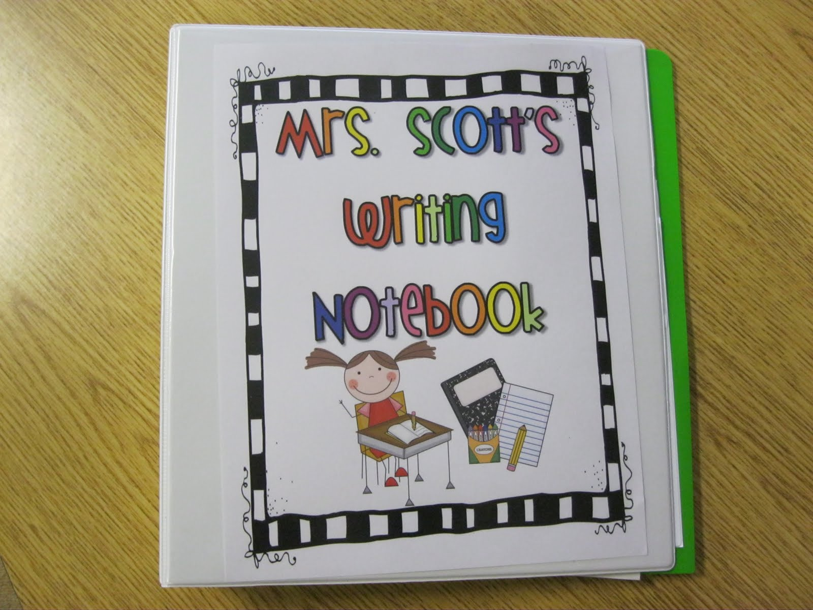 First Grade Fanatics: Our Writing Notebooks